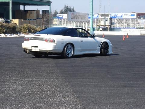 2008/02/05 夢工房基礎練習会in筑波ジムカーナ場 1