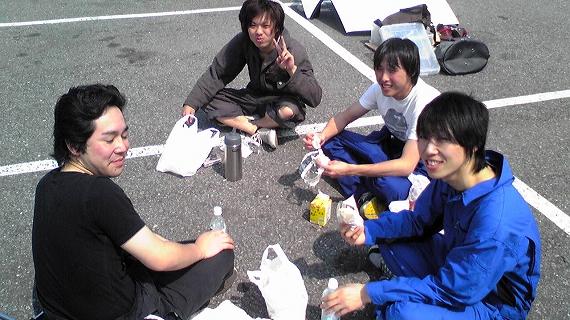 2009/04/08 夢工房ジムカーナ場練習会 2