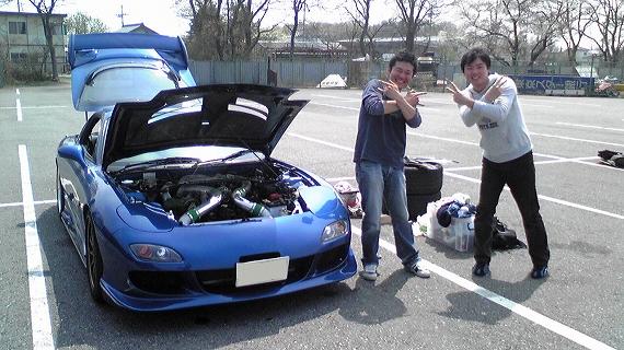 2009/04/08 夢工房ジムカーナ場練習会 1