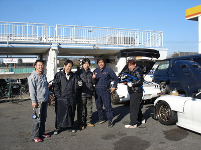 2009/12/08 夢工房TC2000走行会 1