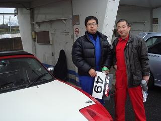 2012/01/22 夢工房TC2000走行会 2