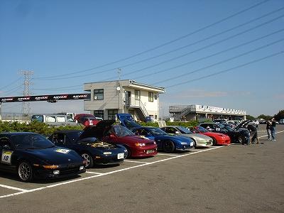 2010/09/18 TC1000 Mプロジェクト走行会にて 1