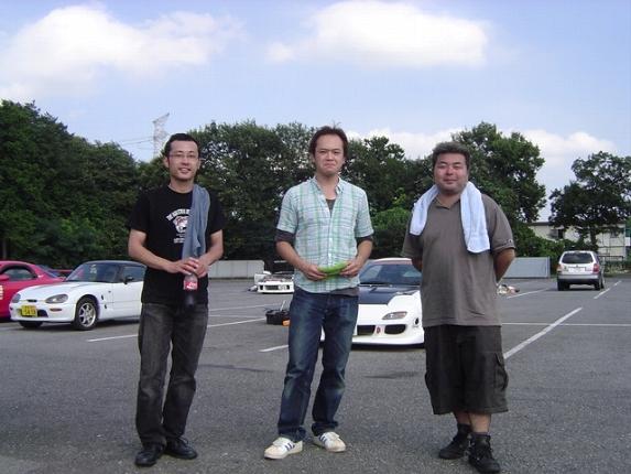 2009/08/12夢工房ジムカーナ場練習会 2