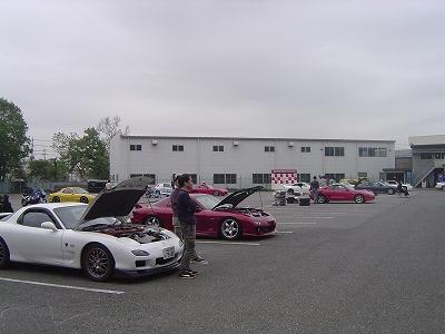 2011/05/03筑波ジムカーナ場くるくる練習会 3