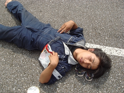 2011/09/19筑波ジムカーナ場くるくる練習会 2